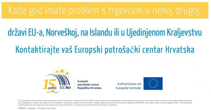 Pogledajte kako vam Europski potrošački centar može pomoći