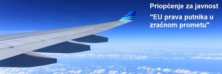 Priopćenje za javnost - EU prava putnika u zračnom prometu