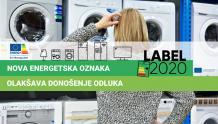 Nova generacija energetskih oznaka od 1. ožujka 2021. na tržištu