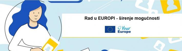 Poziv na online događanje: Rad u Europi - širenje mogućnosti