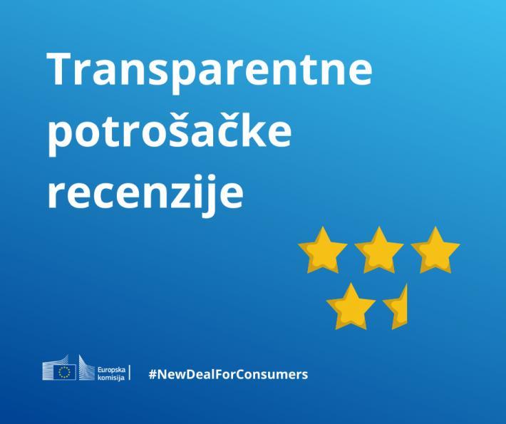 Nova pravila za poboljšanje zaštite potrošača - zabrana lažnih recenzija