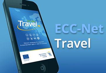 Mobilna aplikacija ECC-Net: Travel App